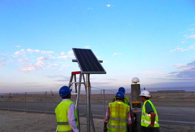 AKT Solar Panel for CORS Qatar